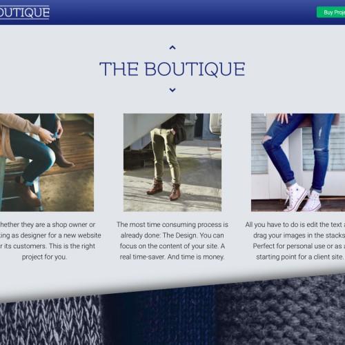 Boutique - Info part