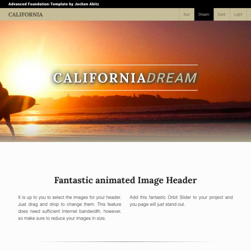 California - Slider Images