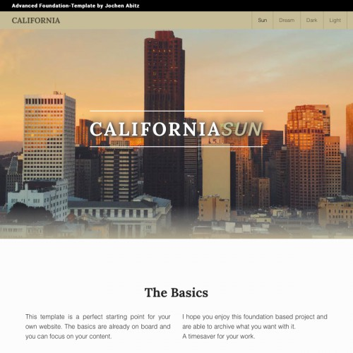 California - Start Page