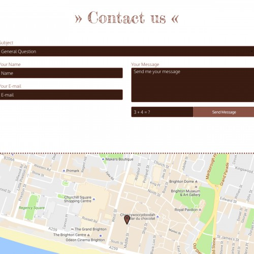 Coffee - Contact Page