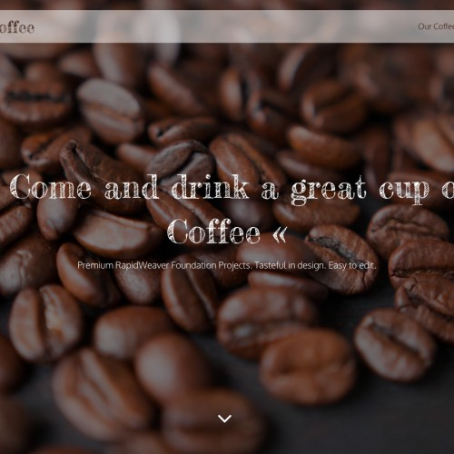 Coffee - Coffee Page Hero Image