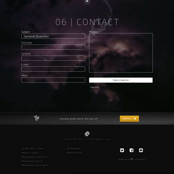 Nice Contact form