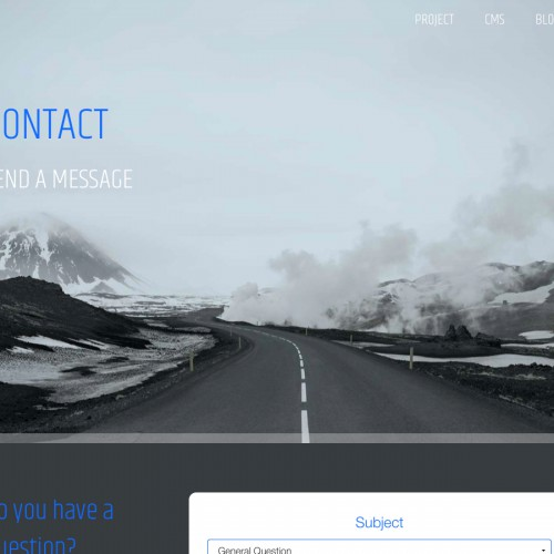 Iceland - Contact page