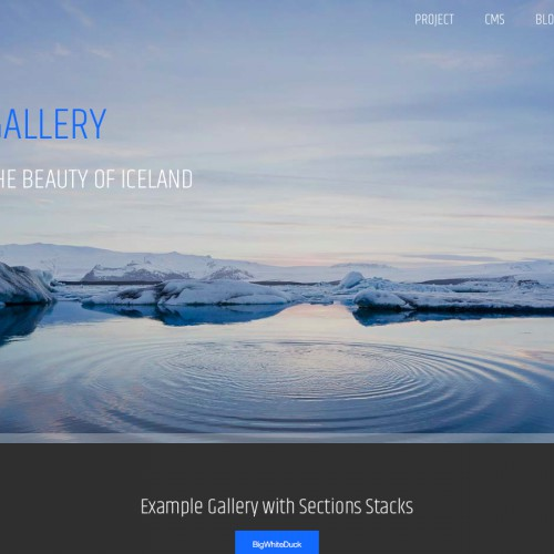 Iceland - Image Gallery Page