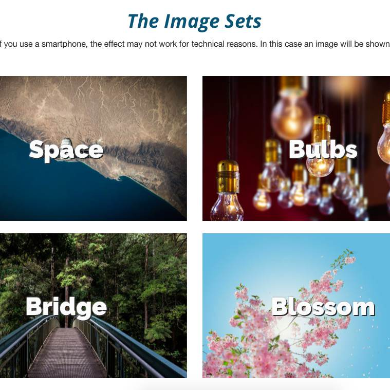 Parallax Images Overview
