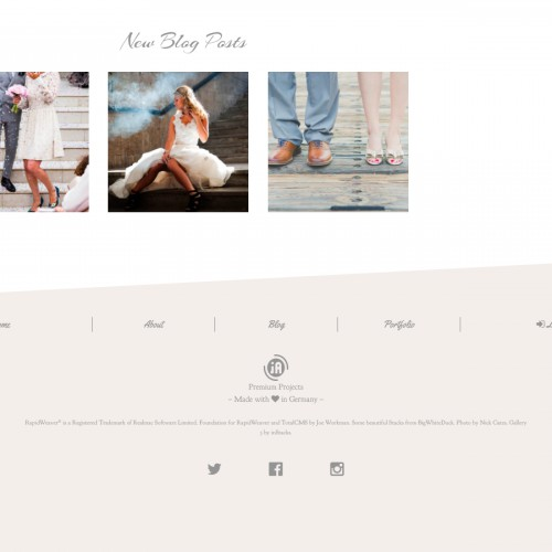Photostories Wedding - Footer
