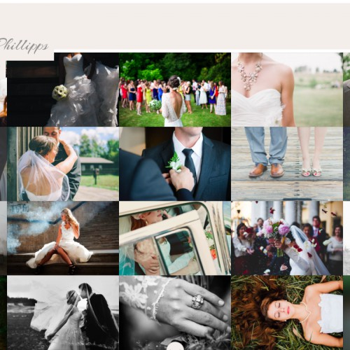 Photostories Wedding - Image Wall