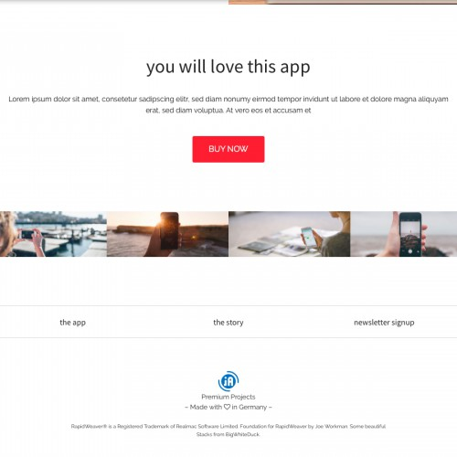 Startup - Footer