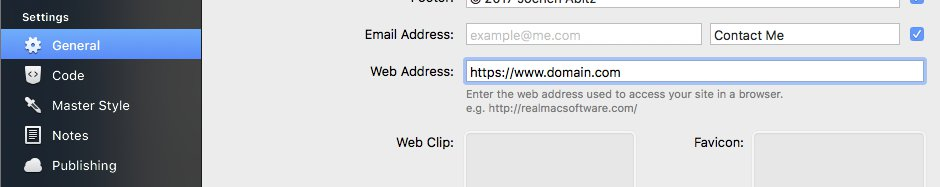 change the URL to https